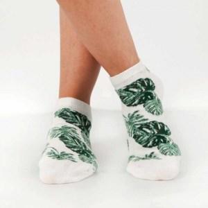 Ankle Socks Leaves [Green]