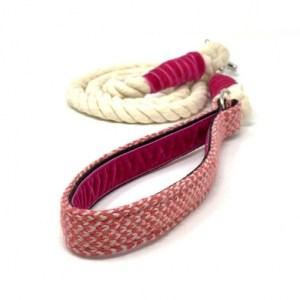 Geranium & Dove – Harris Design – Rope Lead