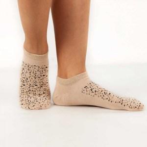 Animal Print Ankle Socks (2 x Pack Leopard)