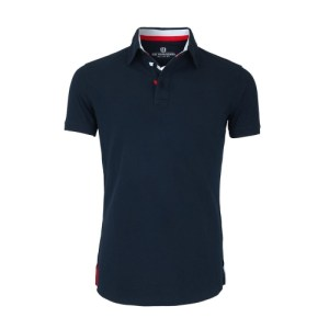 The Driver - Navy - The Driver Polo Manches Courtes Homme Navy 500x500