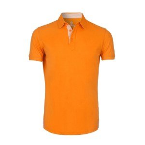 The Sailor - Orange - The Sailor Polo Manches Courtes Homme Orange 500x500
