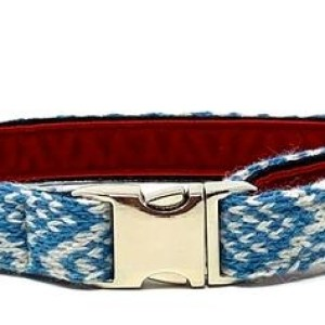 Turquoise & Dove – Barclay Design – Dog Collar