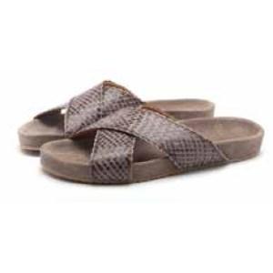 Flora Grey Sandal