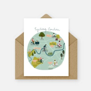 Cycling London Card (Pack of 6)