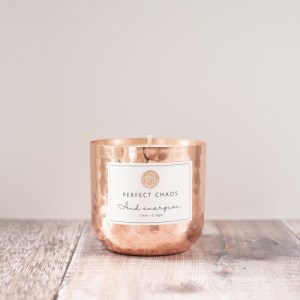 Copper pot Candle – Lime and Ginger