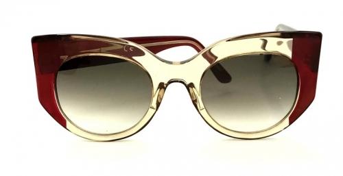 Gustavo Eyewear – G13 – Translucent and Burgundy