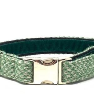 Green & Dove - Harris Design - Dog Collar - green doveharis fb41c578 76eb 423e a968 2bcda4f81784 590x 500x335