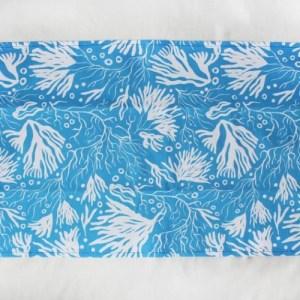 Luxury Teatowels Handmade Printed - Blue White Seaweed - il 794xN.2746494069 cgoy 500x500