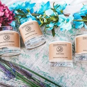 Spring Scottish Candle – Scottish Candles – Lavender Candle – Fresh Candle – Sandalwood Candle – Handmade gifts