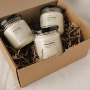 Bundle of 5 scented candles