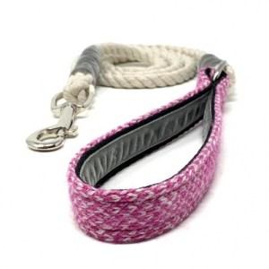 Pink & Dove – Harris Design – Rope Lead
