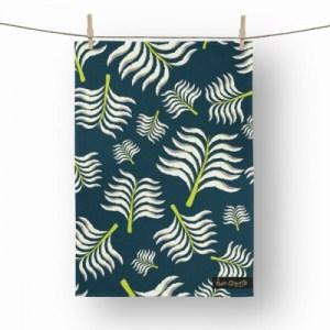 Viola's Palm Tea Towel - tw5 500x500