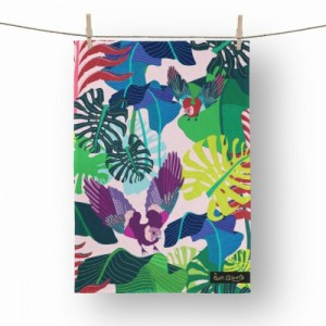Jay's Jungle Tea Towel - tw8 500x500