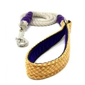Yellow & Orange – Harris Design – Rope Lead