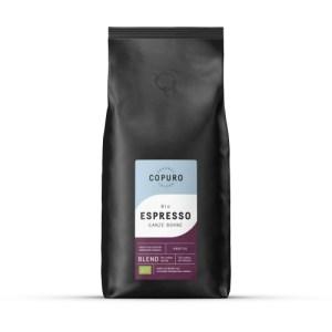 Copuro Bio Espresso Whole Beans, 1,000g (Pack of 5)