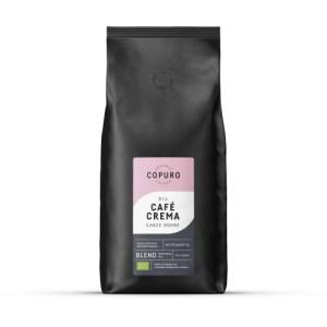 Copuro Bio Café Crema Whole Beans, 1,000g (Pack of 5)