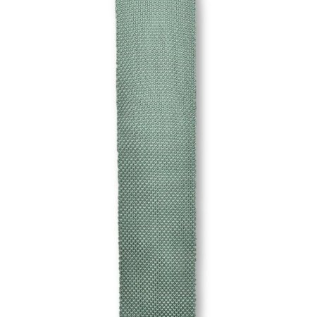 Sage green knitted tie