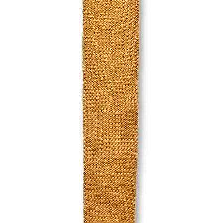Orange ember knitted tie