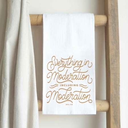 Tea Towel-Moderation
