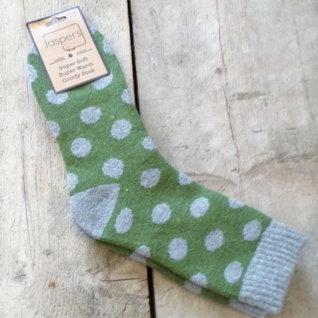 Super Soft Socks with Two Coloured Spot JS805G