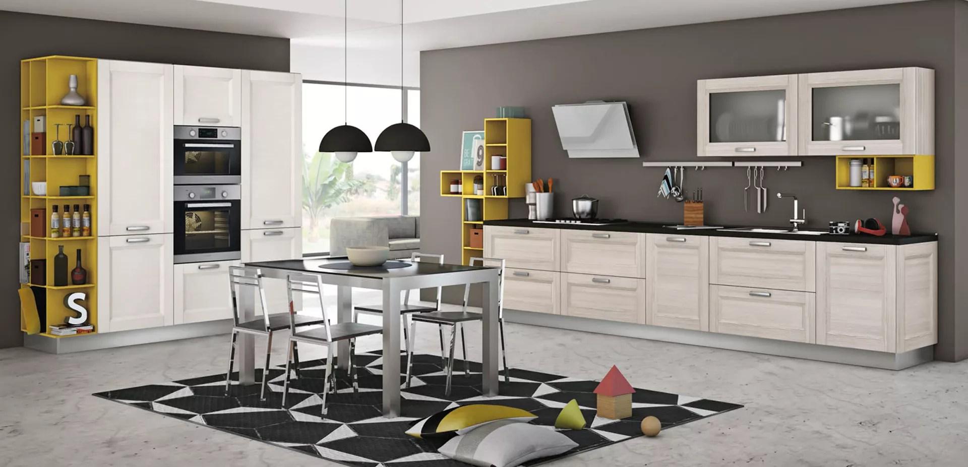 Quando usare le pitture lavabili. Colori Cucina Rustica 5 Tocchi Per Ottenere Un Look Moderno Creo Store Milano Showroom Cucine Creo Kitchens A Milano