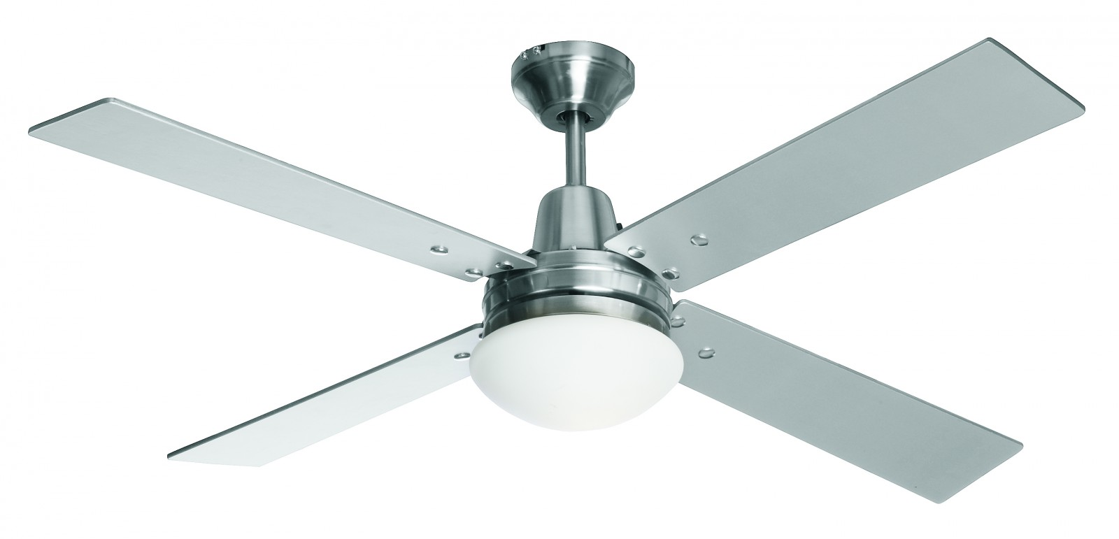 Ceiling Fan Airfusion Quest II Chrome brushed 122 cm / 48
