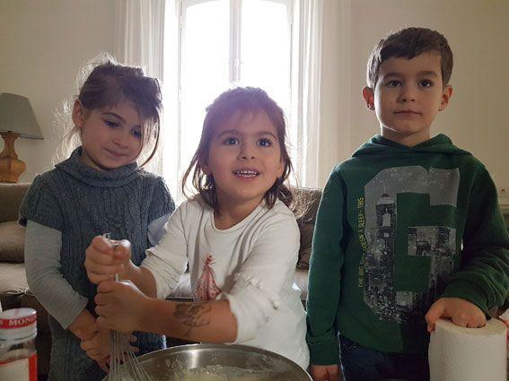 Atelier de cuisine pour enfants à Paris