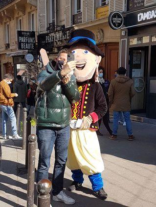Mascotte Ambassade Bretonne