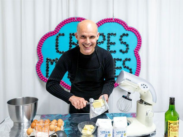Contact for crepe-making courses & sessions