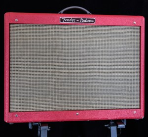"Fender Hot Rod Deluxe ""Texas Red"" Tube Guitar Combo Amp"