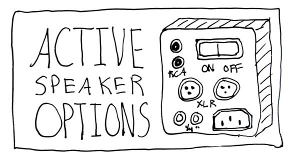 What Makes Active Speakers a Good Option