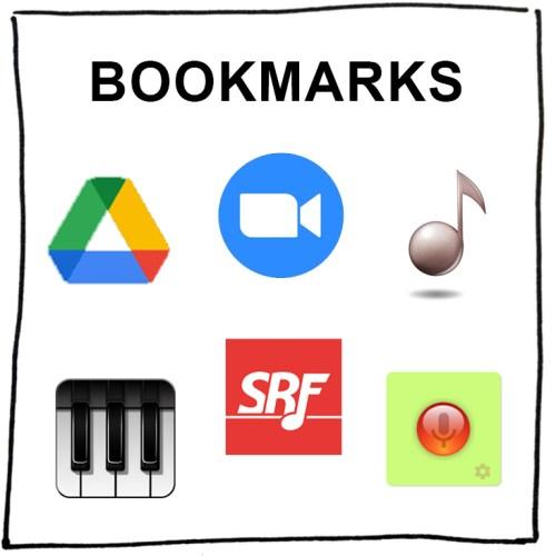Music Loft Bookmarks