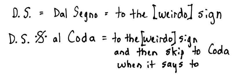Dal Segno: To the Weirdo Sign