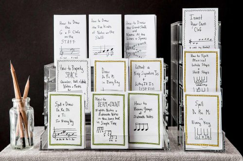 Tiny Books of Musical Rudiments