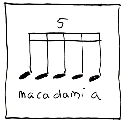 Blue Jello Rhythm: Macadamia