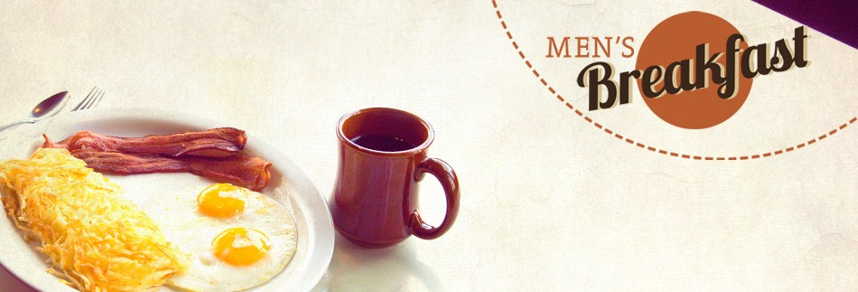 Men's Breakfast Website Banner