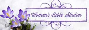 Women's Bible Study Ministry Website Banner