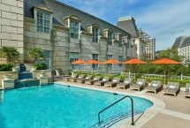 Pool Family Hotel In Dallas Texas Crescent Court