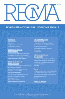 Parution dans le dernier numéro de la RECMA d'un article universitaire sur les circuits courts en Limousin .