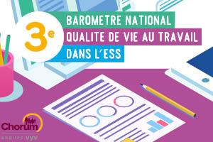3eme baromètre national de la QVT dans l'ESS de Chorum