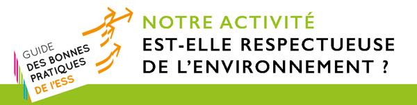 La protection de l'environnement : tout le monde a son rôle à jouer #BonnesPratiques