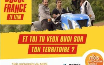 [Mois ESS] Dynamiques d'avant-première film «Douce France» en Nouvelle-Aquitaine