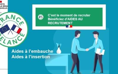 France Relance: Aide à l'embauche, aide à l'insertion