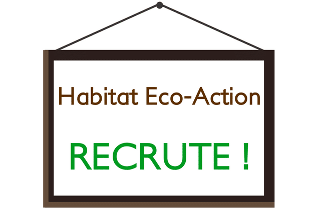 Habitat Eco Action recrute