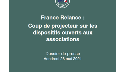 France Relance : Les dispositifs ouverts en faveur des associations