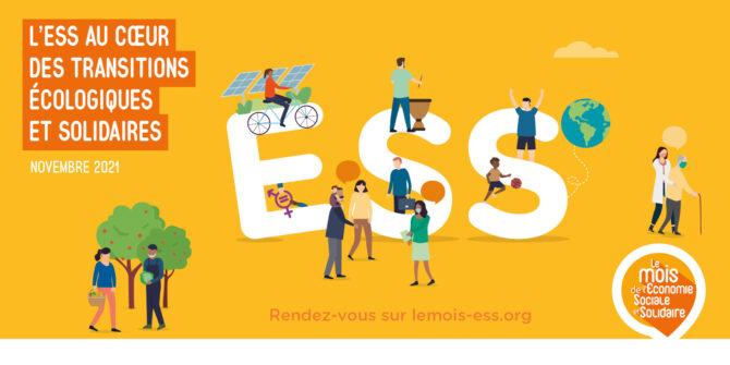 14e Mois de l'Economie Sociale et Solidaire : Inscrivez vos événements dans la programmation !