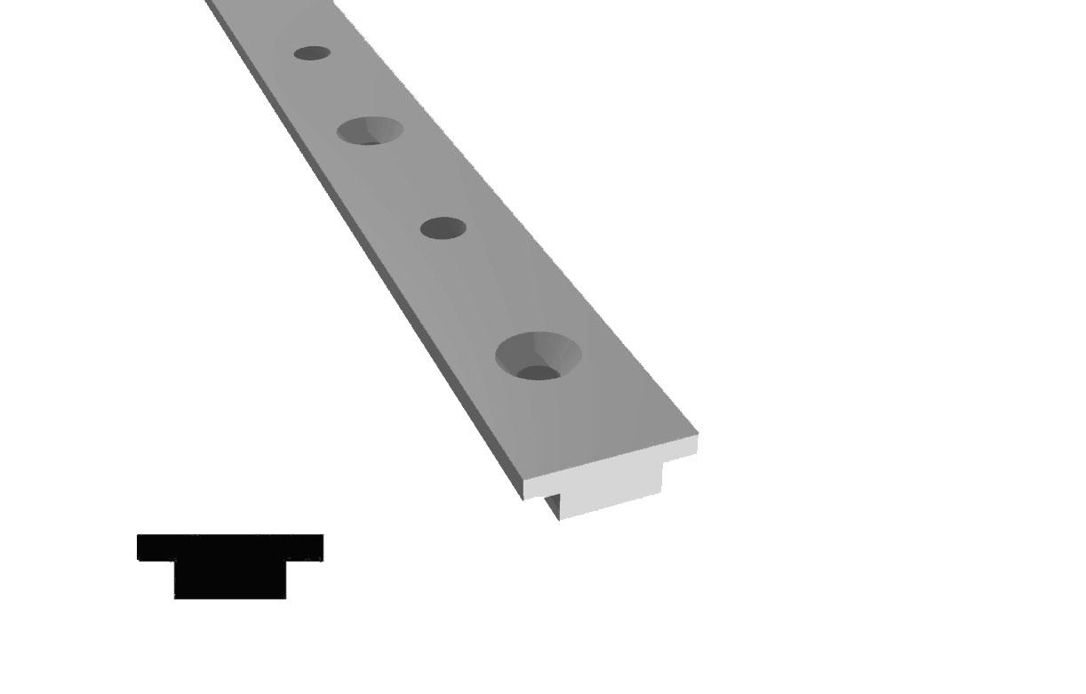 Aluminum T Track