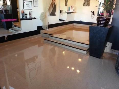 Best Looking Salon Floors in the City  CrestClean