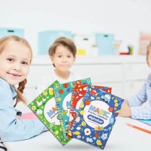 caiete reutilizabile copii