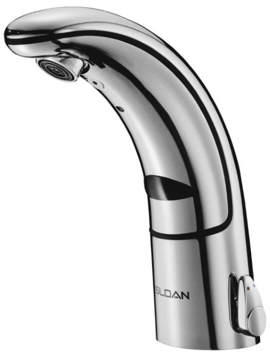 sloan eaf150 ism sensor faucet w side